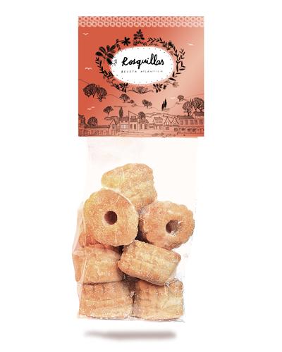 rosquillas artesanas de hojaldre en vigo, dulces gallegos en vigo, rosquillas gallegas en vigo