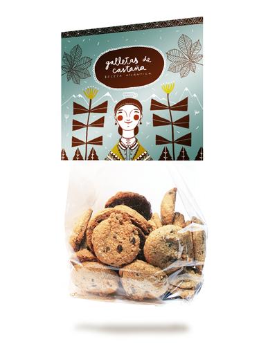 galletas artesanas en vigo, galletas de castaña en vigo, dulces gallegos en vigo, galletas gallegas en vigo